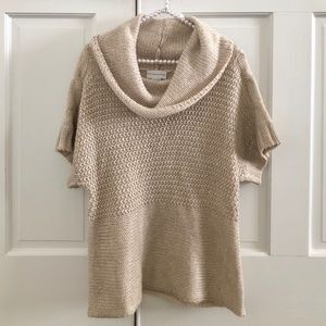 NEW Soft Surroundings Cowl Neck Sweater XS